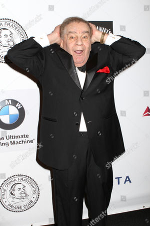Friars Club Dean Freddie Roman poses for photos at the Friars Club Roast of Don Rickles at the Waldorf Astoria on in New York