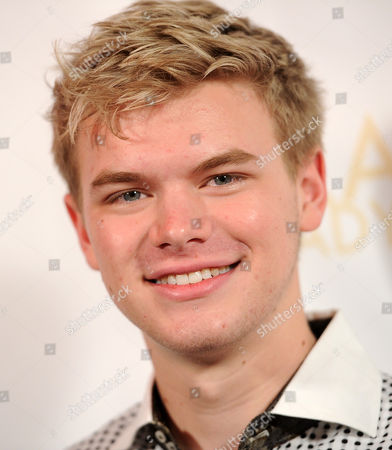 "Kenton Duty poses at a release party for Drake Bell's new ""Ready Steady Go!"" album, in Los Angeles"
