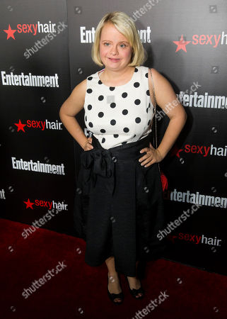 Lauren Potter seen at the Entertainment Weekly Screen Actors Guild Party at Chateau Marmont on in Hollywood, CA