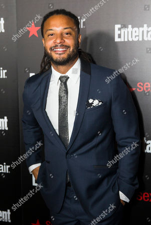 Brandon Jay McLaren seen at the Entertainment Weekly Screen Actors Guild Party at Chateau Marmont on in Hollywood, CA