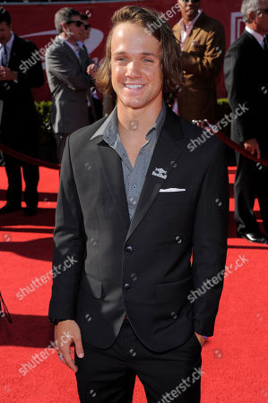 Louie Vito arrives at the ESPY Awards, in Los Angeles
