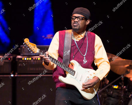 Eric Gales performs during the Experience Hendrix Concert Tour at the Cobb Energy Performing Arts Centre, in Atlanta