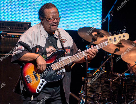 Billy Cox performs during the Experience Hendrix Concert Tour at the Cobb Energy Performing Arts Centre, in Atlanta