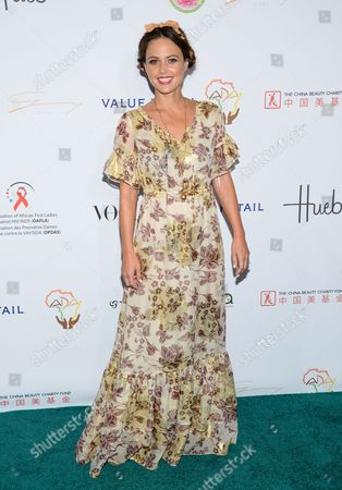 "Honoree model Josie Maran attends the Fifth Annual Fashion 4 Development ""First Ladies Luncheon"" at The Pierre Hotel, in New York"