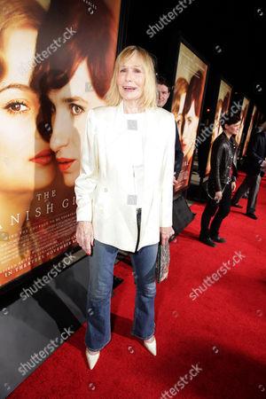 Sally Kellerman seen at Focus Features Los Angeles premiere of 'The Danish Girl' at Regency Village Theatre, in Los Angeles, CA
