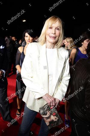 Stock Image of Sally Kellerman seen at Focus Features Los Angeles premiere of 'The Danish Girl' at Regency Village Theatre, in Los Angeles, CA