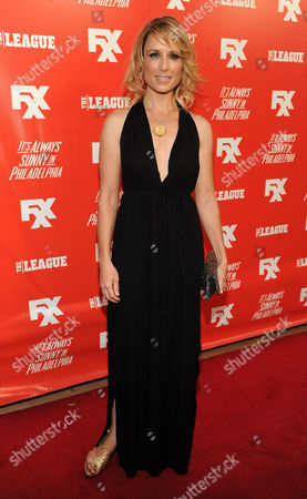 Shawnee Smith FXX Network Launch Party - Arrivals arrives at the launch party for the new FXX Network, on at Lure in Hollywood, Calif