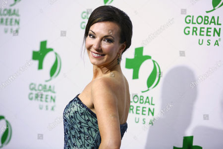 Cooper Harris arrives at the Global Green USA's 12th Annual Pre-Oscar Party at the Avalon Hollywood, in Los Angeles