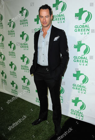 Sebastian Copeland arrives at Global Green USA 10th Annual Pre-Oscar Party at the Avalon, on in Los Angeles