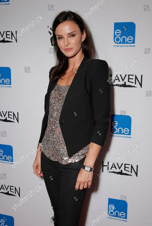 Stock Image of Ana Alexander attends the Entertainment One Haven Party at Comic Con on in San Diego
