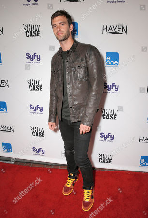 Stock Picture of Lucas Bryant attends the Entertainment One â?oeHavenâ?? Party at Comic Con on in San Diego