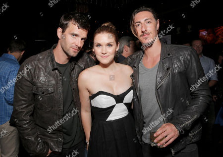 "Lucas Bryant, Emily Rose and Eric Balfour attend the Entertainment One ""Haven"" Party at Comic Con on in San Diego"