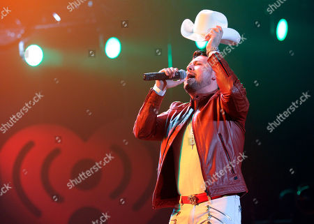 Roberto Tapia performs at the iHeart Radio Fiesta Latina concert at The Forum, in Inglewood, Calif