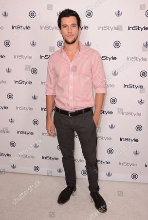 Drew Roy arrives at the InStyle Summer Soiree at the Mondrian Hotel on in Los Angeles