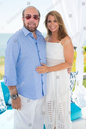 Bobby Zarin, left, and Jill Zarin attend Jill Zarin's 4th Annual Luxury Benefit Luncheon in Southampton, in New York