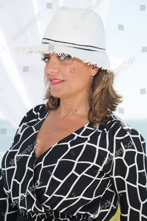 Kathy Wakile attends Jill Zarin's 4th Annual Luxury Benefit Luncheon in Southampton, in New York