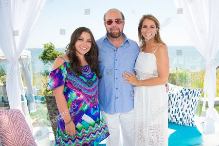 Allyson Shapiro, left, Bobby Zarin, middle, and Jill Zarin attend Jill Zarin's 4th Annual Luxury Benefit Luncheon in Southampton, in New York
