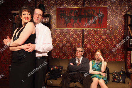 Tracey Childs, Mark Farrelly, Matthew Kelly and Louise Kempton