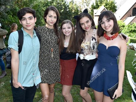 "Editorial picture of Just Jared Jr.'s Fall Fun Day Celebrating Season 2 of Amazon Prime's ""Gortimer Gibbon's Life on Normal Street"", Los Angeles, USA"