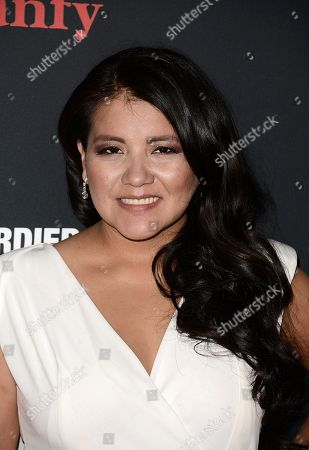 """Actress Misty Upham arrives at the premiere of the feature film """"August: Osage County"""" Regal Cinema L.A. Live on in Los Angeles"""