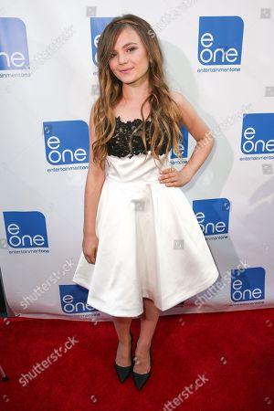 "Chiara Aurelia arrives at the LA Premiere of ""Big Sky"" at the Arena Cinema, in Los Angeles"