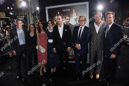 """Editorial image of LA Premiere of """"Jack Ryan: Shadow Recruit"""" - Red Carpet, Los Angeles, USA"""
