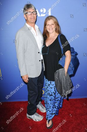 "Stock Picture of Eric Roberts and Eliza Roberts arrive at the LA Premiere of ""Room"" held at the Pacific Design Center, in West Hollywood, Calif"