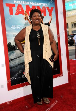 """Cleo King arrives at the Los Angeles premiere of """"Tammy"""" at the TCL Chinese Theatre on"""