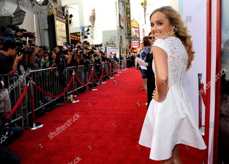 """Mia Rose Frampton arrives at the Los Angeles premiere of """"Tammy"""" at the TCL Chinese Theatre on"""