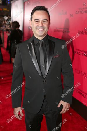 """Nelson Ascencio attends the LA premiere of """"The Hunger Games: Catching Fire"""" on in Los Angeles"""