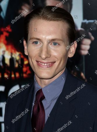 """James Hebert attends the LA premiere of """"Gangster Squad"""" at the Grauman's Chinese Theater, in Los Angeles"""