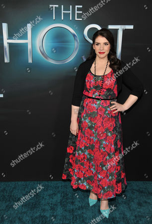 Editorial photo of LA Premiere of The Host Arrivals, Los Angeles, USA