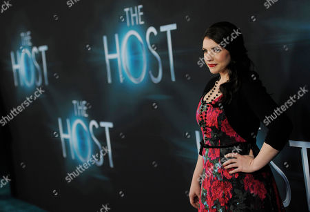 Editorial picture of LA Premiere of The Host Arrivals, Los Angeles, USA