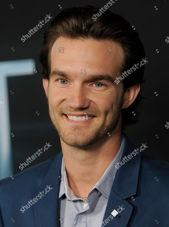 """Lee Hardee, a cast member in """"The Host,"""" poses at the Los Angeles premiere of the film at the ArcLight Hollywood on in Los Angeles"""