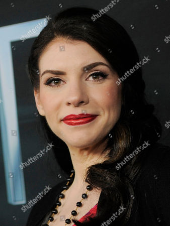 """Stephanie Meyer, producer of the film """"The Host,"""" as well as author of the novel upon which it is based, poses at the Los Angeles premiere of the film at the ArcLight Hollywood on in Los Angeles"""