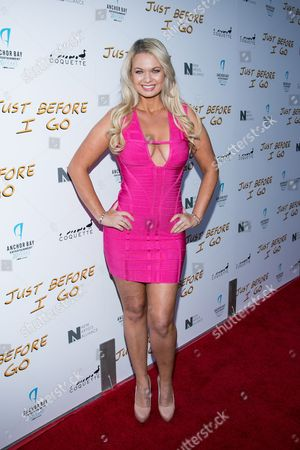 """Angeline-Rose Troy attends the LA Screening of """"Just Before I Go"""" at ArcLight Hollywood on in Los Angeles"""