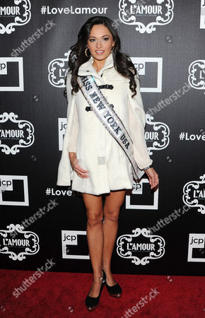Stock Picture of MIss New York Joanne Nosuchinsky attends the L'Amour Nanette Lepore for jcpenney launch party at the Hudson Hotel on in New York