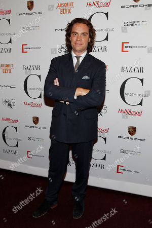 Jay Fielden attends the premiere of Mademoiselle C at the Florence Gould Hall on in New York