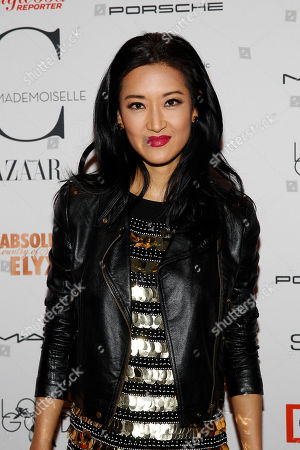 Kelly Choi attends the New York premiere of Mademoiselle C presented by Cohen Media and sponsored by Absolute Elyx, LoveGold, and The Hollywood Reporter at the Florence Gould Hall on in New York