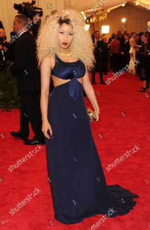 """Stock Photo of Nicky Minaj attends The Metropolitan Museum of Art's Costume Institute benefit celebrating """"PUNK: Chaos to Couture"""" on in New York"""