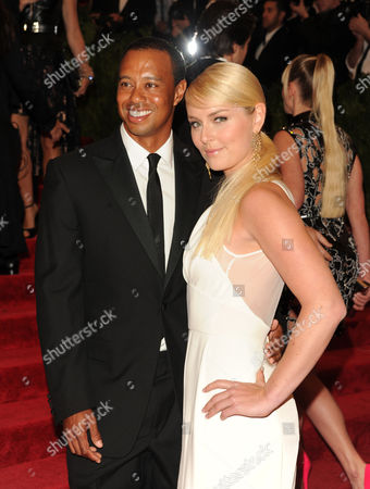 "Tiger Woods and Lindsay Vonn attend The Metropolitan Museum of Art's Costume Institute benefit celebrating ""PUNK: Chaos to Couture"" on in New York"