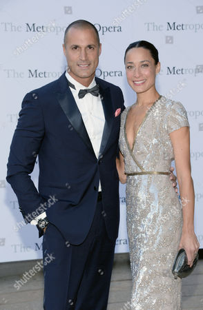 Nigel Barker and Crissy Barker arrive at Metropolitan Opera 2014-15 Season Opening, in New York