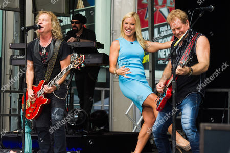Editorial picture of Night Ranger Performs on FOX and Friends, New York, USA