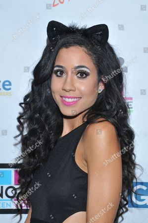Artist Lexi Noel is seen at the No Bull 2014 Teen Video Awards at The Westin Hotel on in Los Angeles, California