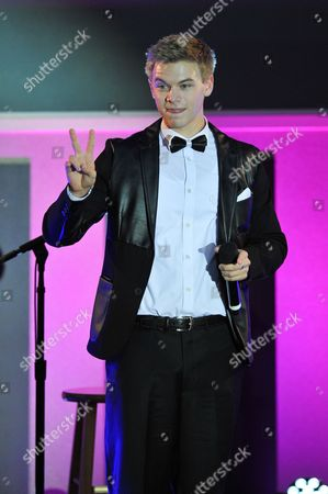 Stock Picture of Actor Kenton Duty is seen at the No Bull 2014 Teen Video Awards at The Westin Hotel on in Los Angeles, California
