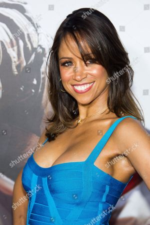 """Stacey Dash attends the """"American Sniper"""" premiere on in New York"""