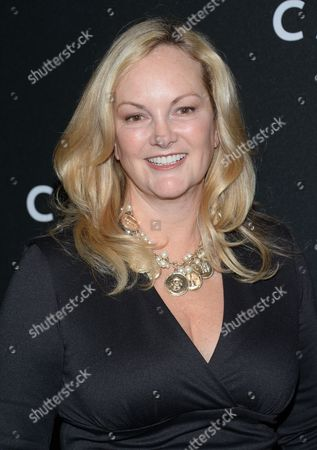 """Patricia Hearst arrives at the premiere of """"Carol"""" at the Museum of Modern Art, in New York"""