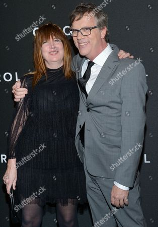 "Production designer Judy Becker and director Todd Haynes attend the premiere of ""Carol"" at the Museum of Modern Art, in New York"