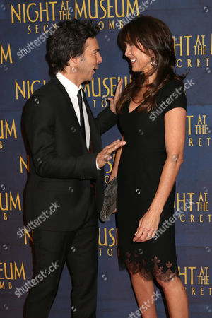"""Director Shawn Levy and Susan Schneider attend the premiere of """"Night at the Museum: Secret of the Tomb"""" at the Ziegfeld Theatre on in New York"""