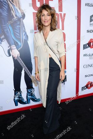 """Jennifer Esposito attends the premiere of """"Ricki and the Flash"""" at AMC Loews Lincoln Square, in New York"""